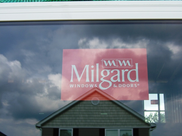 Michael and shannon buy a house general for Buy milgard windows online