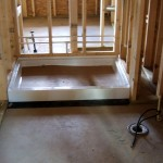 Master-bath shower stall