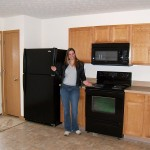 Spokemodel Shannon presents the new Whirlpool appliances